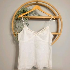 Magaschoni Top with lace detail
